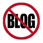 No Blogging