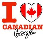 I love Canadian boys