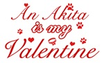 An Akita is my valentines