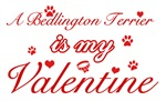 A Bedlington Terrier is my valentines