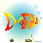 Daryl Orange Fish