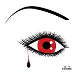 Bleeding Eye--Red