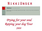 Prying for your soul tour