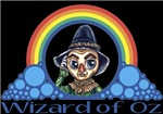 With all the colors of the rainbow, this Wonderful Wizard of Oz inspired design captures Scarecrow Wizard of Oz.  The perfect gift for any Oz fan.