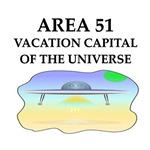 a funny area 51 joke on gifts and t-shirts.