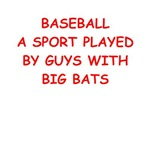 a funny baseball joke on gifts and t-shirts.