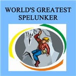 world's greatest spelunking gifts t-shirts present