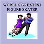 world's greatest figure skater gifts t-shirts