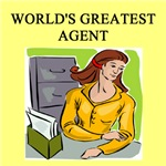 world's greatest agent gifts t-shirts