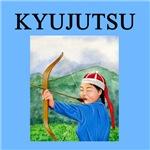 kyujutsu archery gifts t-shirts