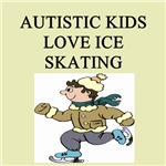 autism boys ice skating