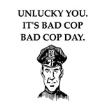 good cop police joke gifts apparel