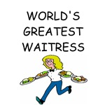 world's greatest waitress