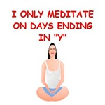 meditation humor gifts t-shirts