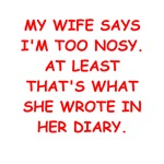 nosy husband