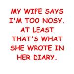nosy husband