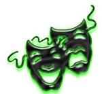 Comedy/Tragedy Masks Designs