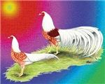 Yokohama Cock and Hen