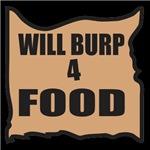 Will Burp 4 Food