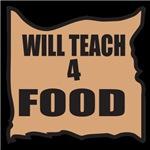 Will Teach 4 Food
