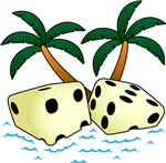 Tropical Pair O' Dice