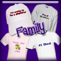Family T-shirts and Gifts