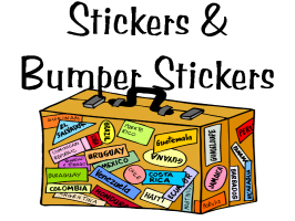 Stickers and Bumper Stickers