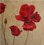 Red Poppy Art II