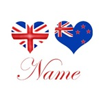 Personalized Union Jack New Zealand Flag Products