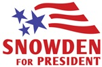 Snowden For President Shirts