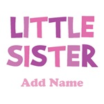 Personalized Little Sister Gifts