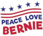 Peace Love and Bernie