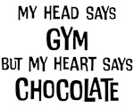 Gym vs. Chocolate