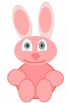Pink Bunny T-shirts and Gifts