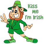 Kiss Me, I'm Irish T-shirts