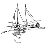 Sailboat Drawing Gifts