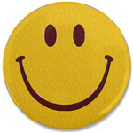 Smiley Face Embroidered Shirts