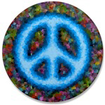 Artistic Peace Buttons ~ Peace polo shirt and jacket collection decorated with an embroidered logo featuring an funky peace sign logo. Plus, a collection of cool peace buttons and magnets.