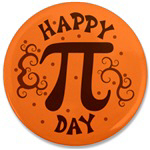 Happy Pi Day Badge