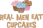 Real Men Eat Cupcakes T-shirt