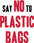 Say No To Plastic Bags T-shirt