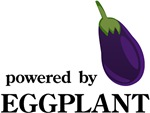 Powered By Eggplant Tee Shirts