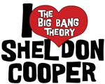 I Heart Sheldon Cooper T Shirt