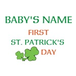 Baby's First St Patrick's Day Shirts
