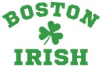 Boston Irish Shamrock Shirts