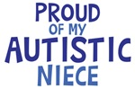 Proud Of My Autistic Niece Shirts