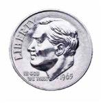 1965 U.S. Dime