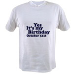 T-Shirts for October Birthdays