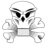Fast Racing Skull & Bones T-shirts & Gifts