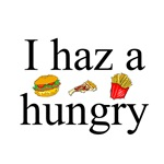 I Haz A Hungry T-Shirts and Gifts